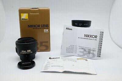 Nikkor 35mm F1.8G AF-S DX SWM 35mm/1:1.8 G 35/1.8G for Reflex Nikon DX APS-C segunda mano  Embacar hacia Mexico