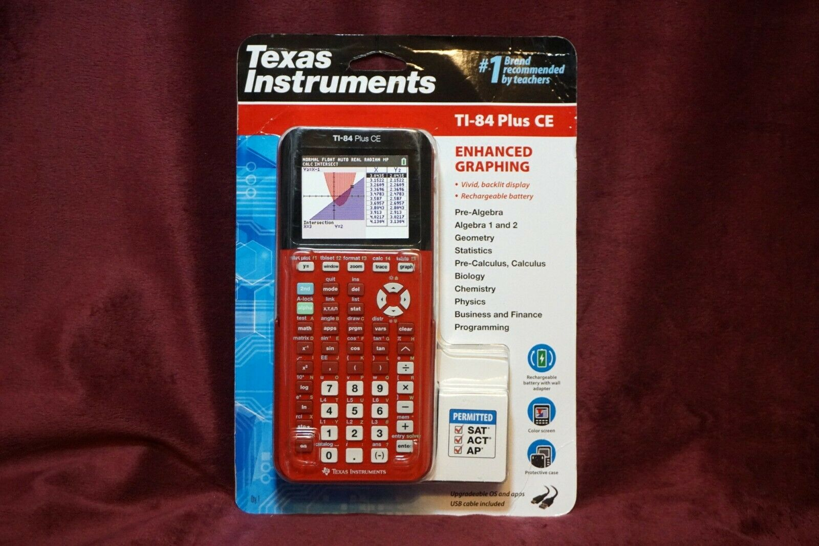 Texas Instruments TI-84 Plus CE Graphing Calculator Radical