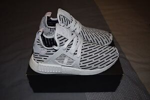 "Adidas NMD_XR1 Primeknit ""White/White/Red"" - Size 11 Caringbah Sutherland Area Preview"