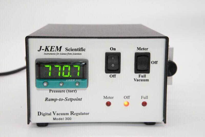J-Kem Digital Vacuum Regulator DVR-300 Chemglass CG-4600-01
