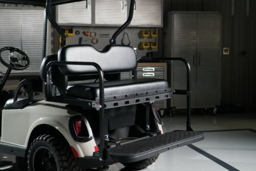 GTW Mach3 Yamaha G19 / G22 Golf Cart Rear Seat Kit (Black)