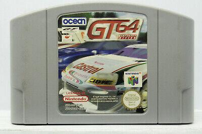 GT 64 CHAMPIONSHIP EDITION NINTENDO 64 N64 USATO PAL EUROPEO 1996/1997 FR1 71532