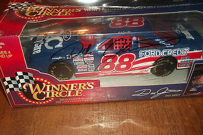 Dale Jarrett  88 Ford Credit Autographed Winners Circle 1997 Series 1 24  18
