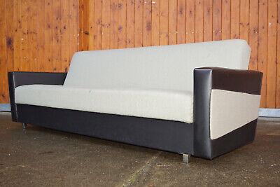 60er vintage lit de repos mid-century canapé rétro club salon pour dormir danish