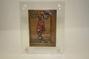 MICHAEL JORDAN Colorized 1991-92 Upper Deck BRONZE Card Basketball HIGHLAND MINT