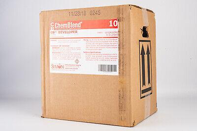 Simon Chemblend X Ray Developer Concentrate 10 Gallon Mix Sealed Box V16