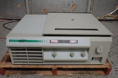 Sorvall Rt-7 Refrigerated Centrifuge W Rth-750 Rotor Buckets