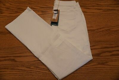 NWT WOMEN'S PRANA JEANS Size 4 / 27 Short Jada Jean White Su