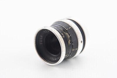 Kern Paillard Yvar 12.5mm f/2.8 Motion Picture Cine Lens for D Mount V05
