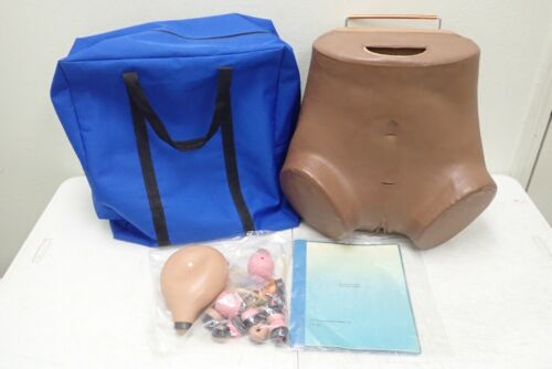 Gaumard Scientific ZOE Female Lower Torso SIM Pelvic Exam Simulator with Bag
