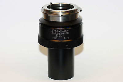 Diagnostic Instruments T10s 3ccd 1.0x Camera Coupler Mint Condition