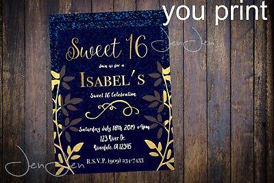 Sweet 16 Invitation (Sweet 16 Party Invitation (You)