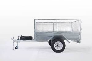 LOWEST PRICE EVER !! 8*5 GALVANIZED BOX CAGE TRAILER  $1499!!!!! Wetherill Park Fairfield Area Preview