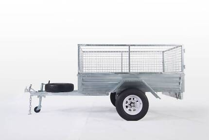 SPECIAL!! 8*5 GALVANIZED CAGE TRAILER HEAVY DUTY $1950 DRIVE-AWAY Wetherill Park Fairfield Area Preview