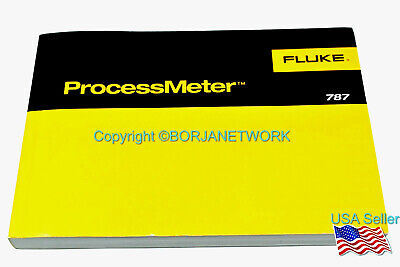 Fluke 787 Processmeter Product Manual-used And In Good Condition