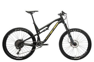 "2017 Intense Spider 275C Mountain Bike Large 27.5"" Carbon Box Two SunRingle"