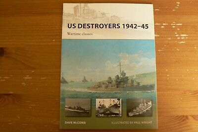 Osprey New Vanguard 165: US Destroyers 1942-45. Wartime classes