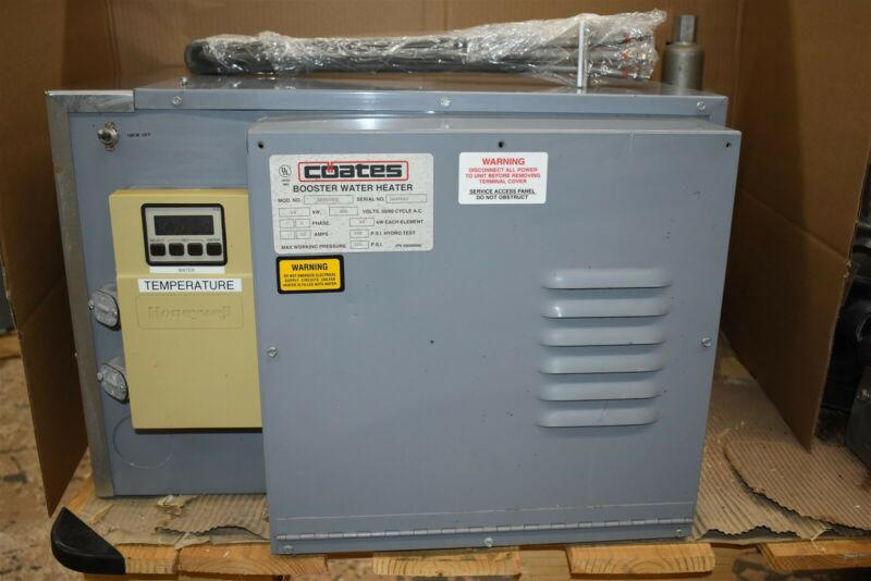 Coates 3 Phase Booster Water Heater 54kW 65 Amp 480 Volts Model LS4654DI