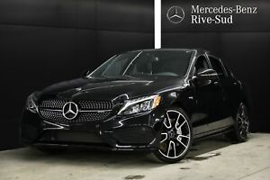 2018 Mercedes-Benz C43 AMG 4MATIC, NAVIGATION, NIGHT PKG