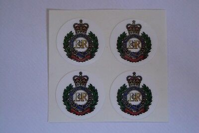 """16  ROYAL ENGINEERS     CROWN GREEN STICKERS  1""""   LAWN BOWLS FLATGREEN"""