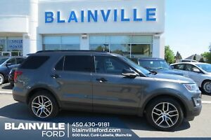 Ford Explorer AWD, Sport, 3.5 L Ecoboost, 7 Passager, Toit Panor