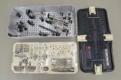Brainlab Depuy Vectorvision Surgical Instrument Set Orthopedic 14827 B33