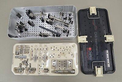 Brainlab Depuy Vectorvision Surgical Instrument Set Orthopedic 14827 B33