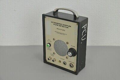 Parks Medical Ultrasonic Doppler Flow Detector Model 811-bts 23476