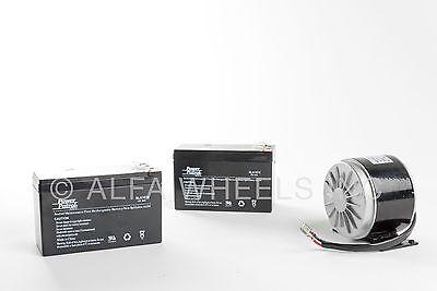 350w 24 V Dc 19.1 A Electric Motor My1016 Kit With 2x 12v 10ah Sla Batteries