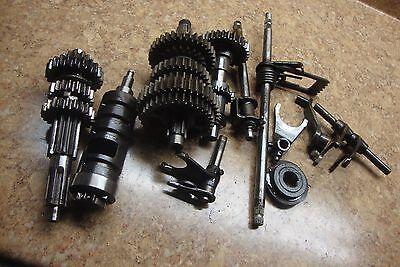 1987 Suzuki LT125 LT 125 Quadrunner ATV Engine Transmission Gear Shift Fork Drum