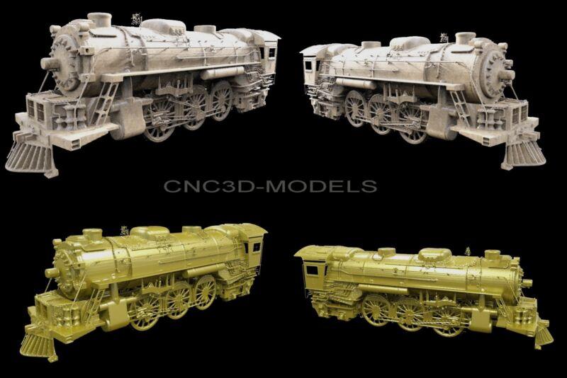 3D Model STL for CNC Router Engraver Carving Artcam Aspire Train 1750