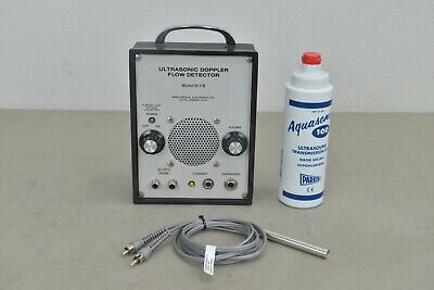 Parks Medical Ultrasonic Doppler Flow Detector Model 811-b W 8.2 Mhz Probe
