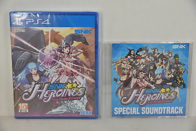 PS4 SNK Heroines Tag Team Frenzy Face off in Tag-Team Battles (ENGLSIH/ CHI)+ CD