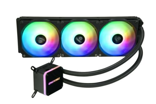 Enermax LIQMAX III 360mm - Addressable RGB AIO CPU Liquid Cooler - Open Box