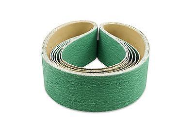 2 X 48 Inch 80 Grit Metal Grinding Zirconia Sanding Belts 6 Pack