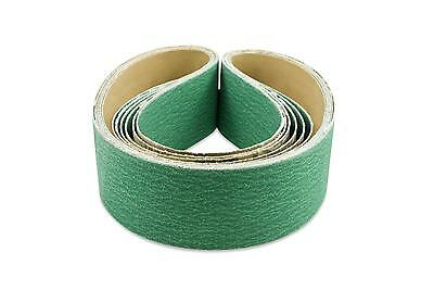 "Purple Sanding Belts Variety Packs 3pc 36,60,120 2/""x72/"" New Ceramic High Perf"