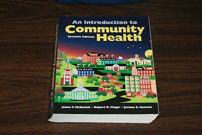 An Introduction To Community Health Mckenzie  Pinger  Kotecki 2012 Softcover