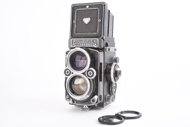 Rolleiflex 2.8F 6x6 TLR Camera with Zeiss Planar 80mm f/2.8 Lens PLEASE READ V69