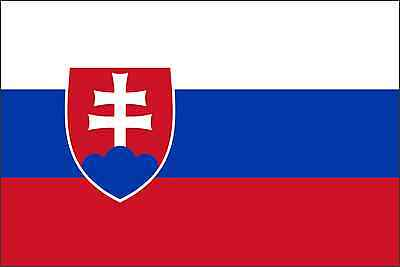 Home Decoration - Slovakia Flag Vinyl Decal / Sticker ** 5 Sizes **