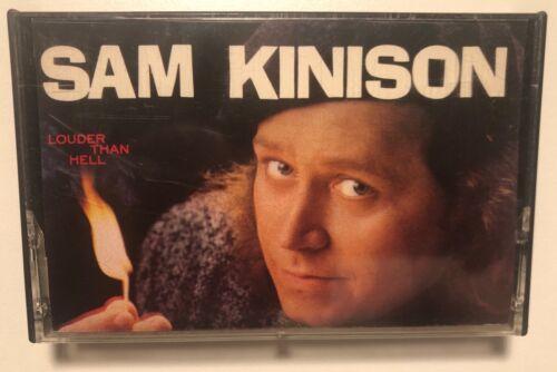 Sam Kinison Louder Than Hell Vintage 1986 Cassette Tape