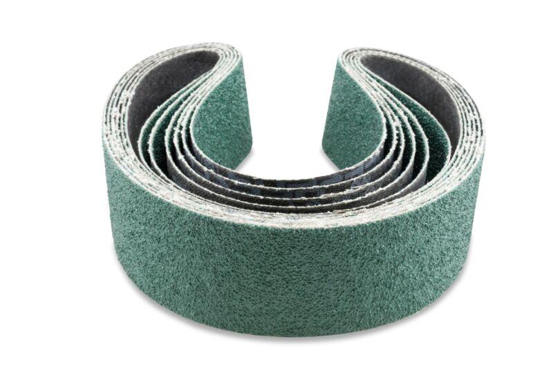 2 X 42 Inch 36 Grit Metal Grinding Zirconia Sanding Belts, 6 Pack