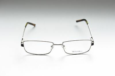 EUROPA MICHAEL RYEN MR-216 FULL RIM METAL EYEGLASS FRAMES SILVER 53-17-138 NEW