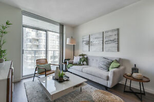 LUXURY ONE BEDROOM RENTALS! STEPS FROM THE SKYTRAIN.