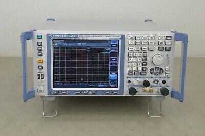Rohde Schwarz Fsv3 Spectrum Signal Analyzer 9khz 3.6ghz 20042-43 C23