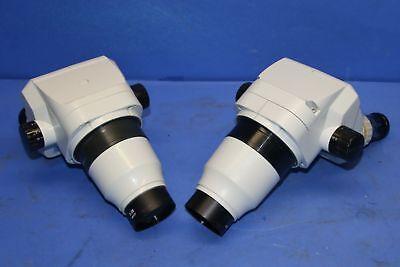 2 Used Stereo Zoom Sz201101 Binocular Body Microscope 17017