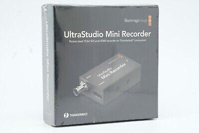 NEW Blackmagic UltraStudio Mini Recorder HDMI2SDI Thunderbolt Blackmagicdesign