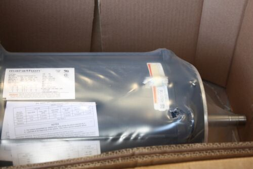 New Marathon 15 HP 3480 RPM electric motor  VFD Duty 215JM