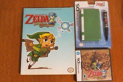 Nintendo  The Legend of Zelda, Phantom Hour Glass DS Game, Guide and Glove Kit ~](Hourglass Kit)