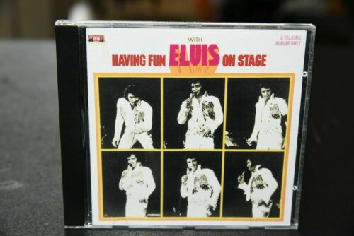 $ALE* HAVING FUN WITH ELVIS ON STAGE VOL1 1997 HK1974-1994 EUP DEN LIVE CD NEW