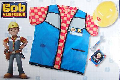 Bob der Baumeister - Handwerker Outfit Autrüstung Set Smoby Kostüm für (Bob Der Baumeister Kostüm)